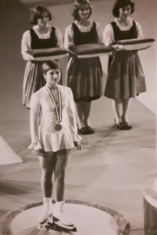 Christine Errath Bronze bei Olympia in Innsbruck 1976